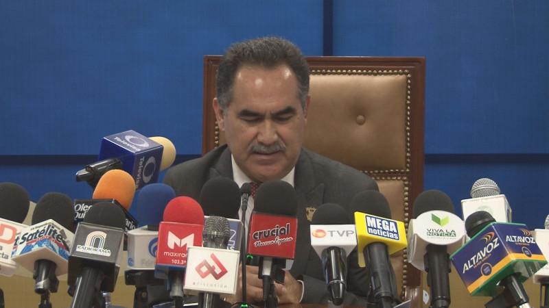 El rector de la UAS Jesús Madueña Molina da a conocer su gabinete de trabajo