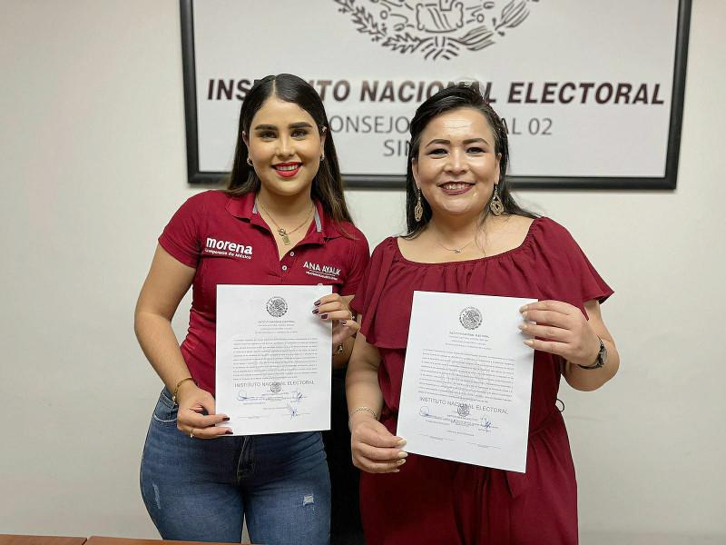 Recibe Ana Ayala constancia del INE como diputada federal electa