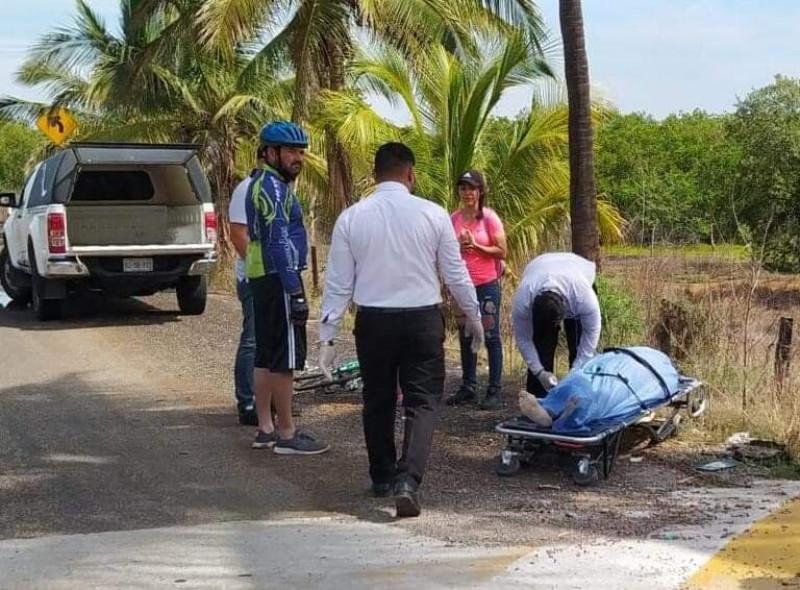Ciclista sufre infarto en la Isla de la Piedra y fallece