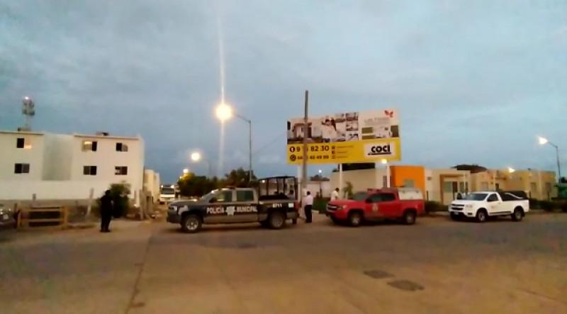 Asesinan a hombre con un arma blanca en el Fraccionamiento Santa Teresa