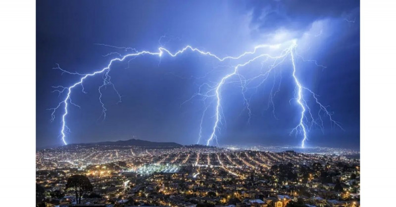 CONAGUA advierte de posibilidad de tormentas eléctricas para Sinaloa y Sonora este lunes