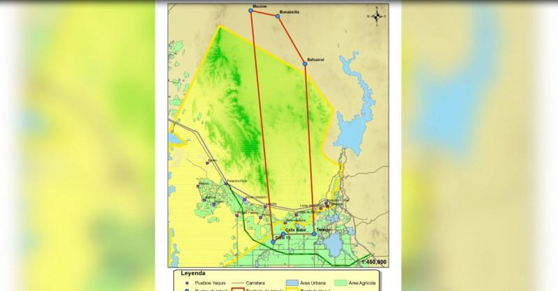 Presenta CFE a Yaquis de Loma de Bácum, nuevo trazo del gasoducto