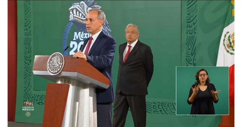 AMLO agradece a López-Gatell tras haber concluido sus conferencias vespertinas en más de 400 días de pandemia