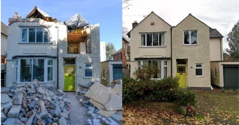 Arquitecto destruye casa luego de que el dueño no le quisieran pagar unas remodelaciones