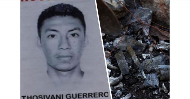 Encuentran en la Barranca de la Carnicería los restos de Jhosivani Guerrero, otro de los estudiantes de Ayotzinapa
