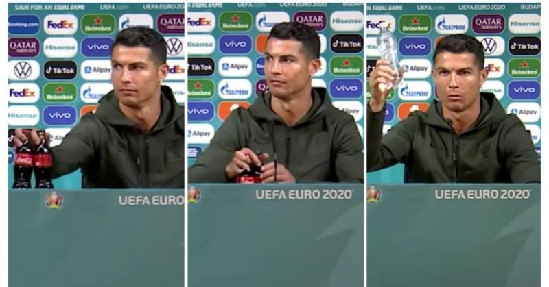 Estas son las otras dos estrellas de la Eurocopa que han emulado el gesto de Cristiano Ronaldo