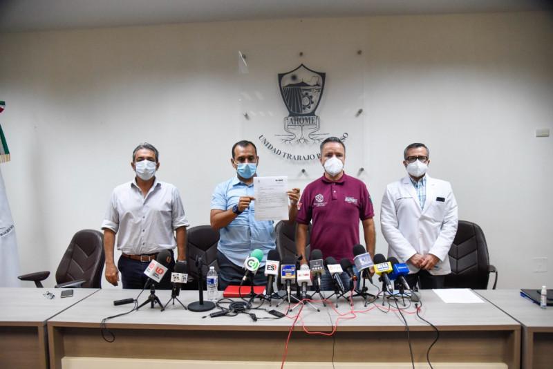Autoridades de Ahome piden a la sociedad cumplir con los protocolos sanitarios