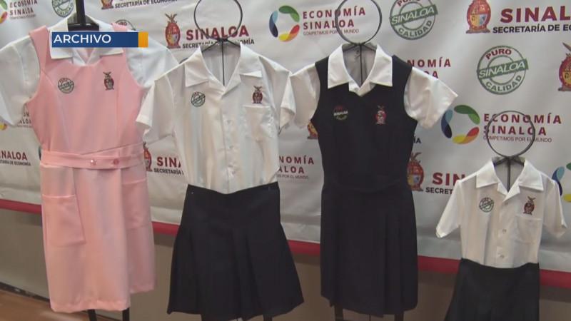 Empiezan anticipos para la fabricación de uniformes en Sinaloa