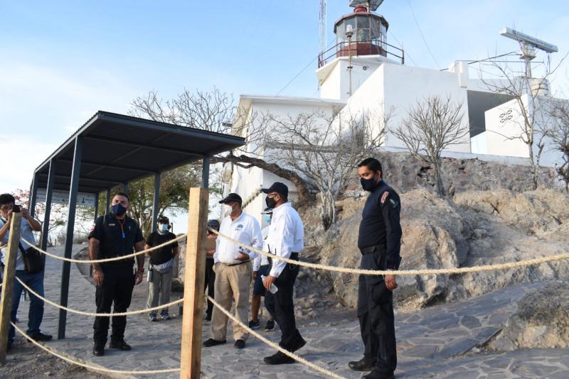Autoriza Protección Civil reapertura del Faro de Mazatlán a partir de este sábado