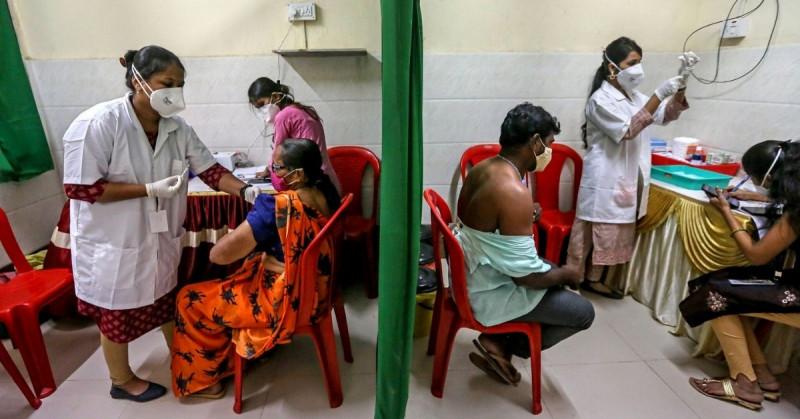 India rompe récord al aplicar 8 millones de vacunas de Covid-19 en un día
