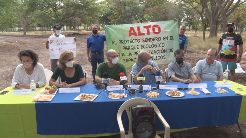 """Deportistas piden no afectar el ecosistema del parque """"La Milla"""""""
