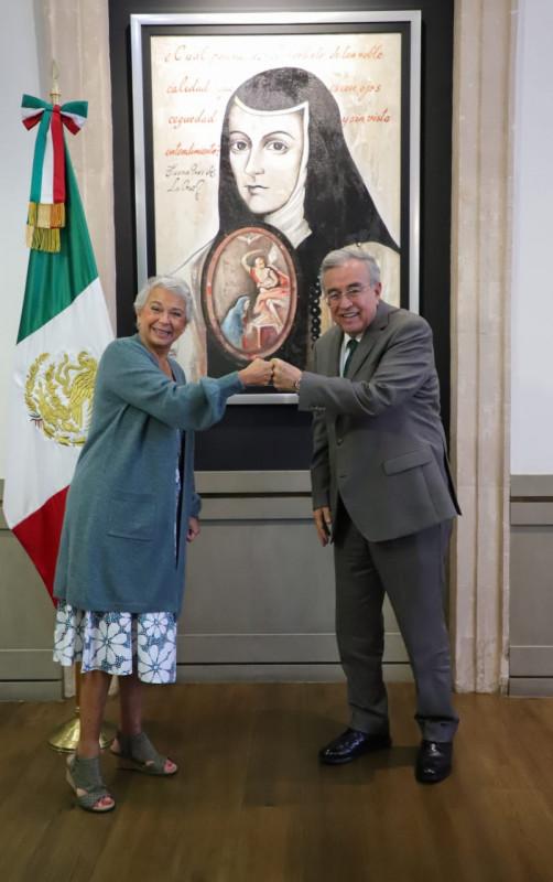 Rubén Rocha y Olga Sánchez hablan de los desaparecidos