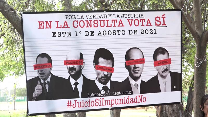 1 de Agosto consulta ciudadana contra expresidentes