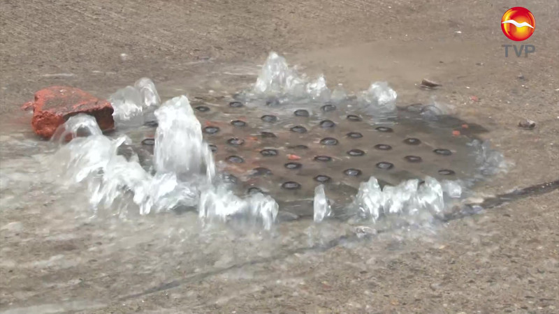 Culpa de mazatlecos, colapso de drenaje en Mazatlán: JUMAPAM
