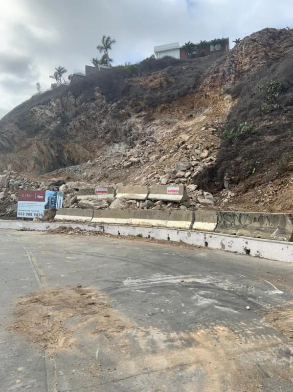 Suspenden obra de construcción en el Cerro del Vigía de Mazatlán