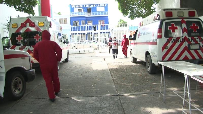 Siguen en aumento las atenciones por COVID en Cruz Roja