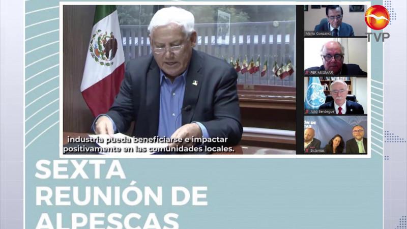 México es anfitrión de reunión internacional pesquera