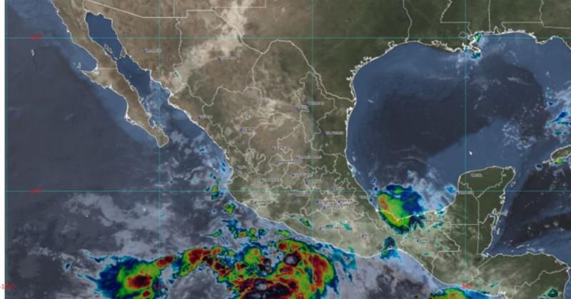 Se forma la tormenta tropical Enrique en el Pacífico mexicano