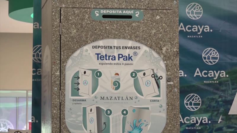 Se instalarán contenedores para reciclado de Tetrapak