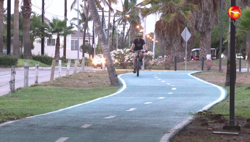 Inauguran ciclovía Sábalo-Cerritos