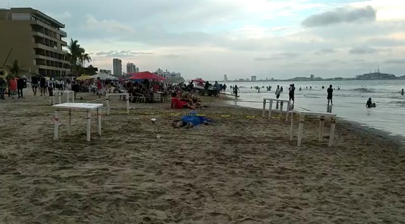 Hombre muere ahogado en Mazatlán