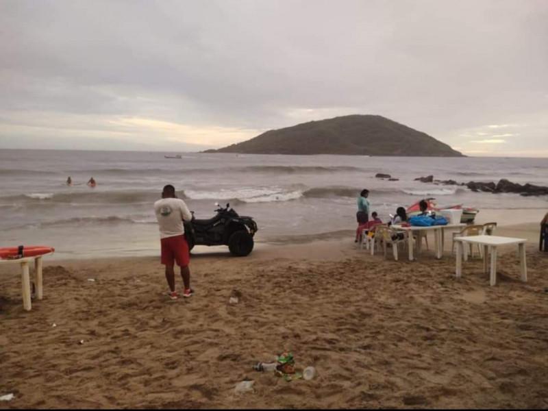 Fallece turista ahogado en Mazatlán
