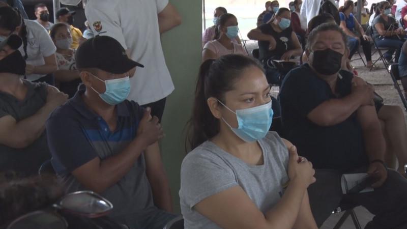 Este 29 de junio, último día de vacunación a adultos de 40 años en Culiacán