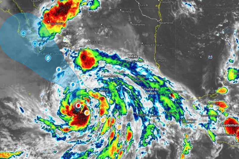 """PC en alerta por """"Enrique"""", dejará lluvias intensas en Sinaloa"""