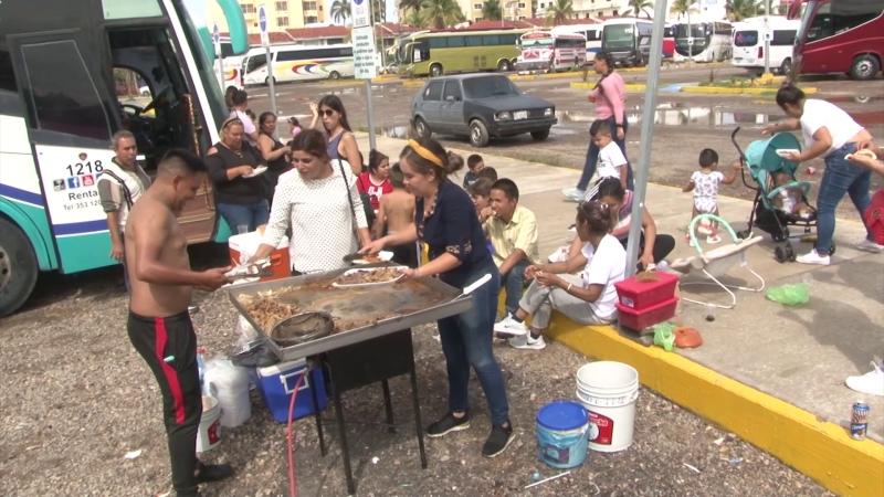 Turistas y Fritangas desde Sahuayo a Mazatlán
