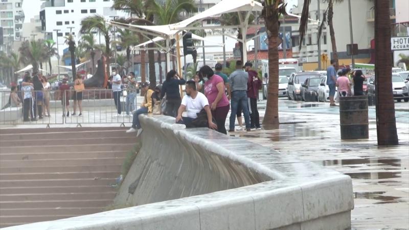 Permanecen cerradas las playas de Mazatlán