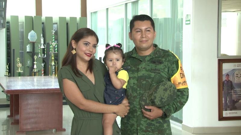 Militar y padre dos tareas que requieren mucha responsabilidad