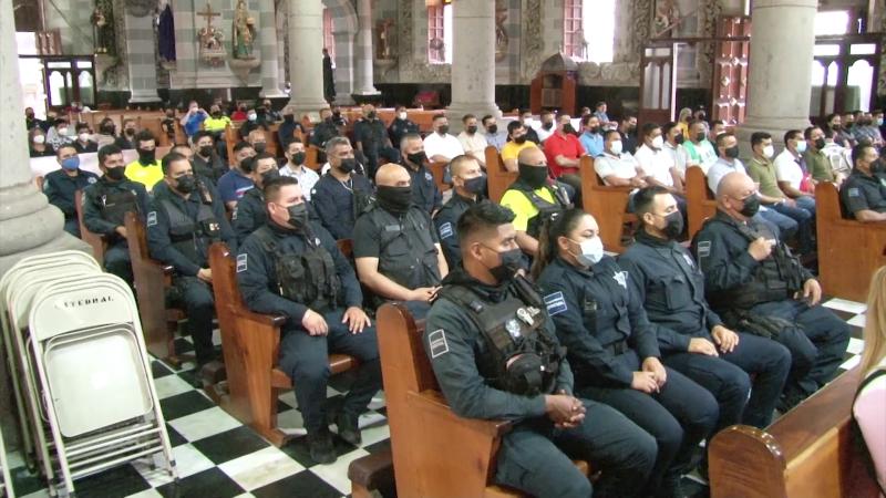 Policías de Mazatlán conmemoran su día