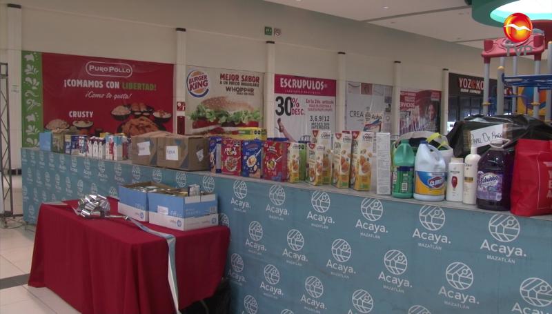 Recolectan en Mazatlán apoyos para Asilo de Ancianos