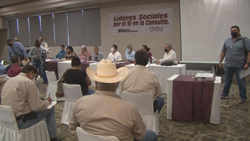 Se preparan organizaciones civiles para la Consulta Ciudadana
