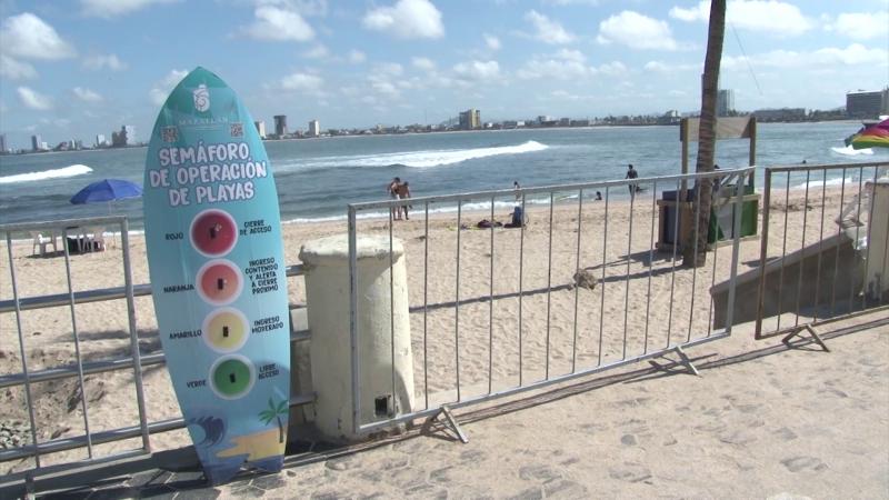 Regresan filtros de acceso a playas ante COVID