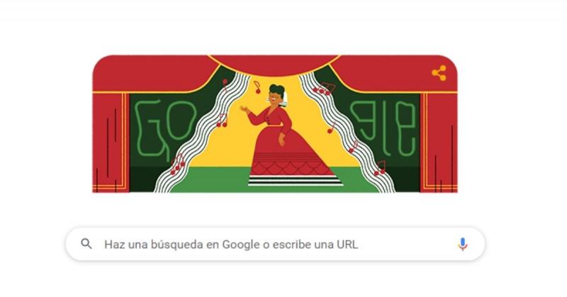 Google homenajea a Ángela Peralta, la legendaria soprano del siglo 19 que murió en Mazatlán