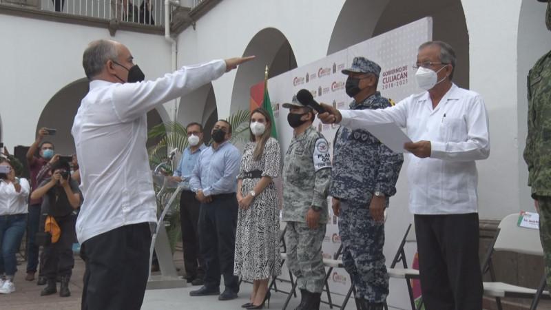Nuevo Secretario de Seguridad Pública y Tránsito Municipal de Culiacán tomo protesta