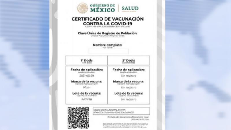 Ya se podrá tramitar certificado de vacunación contra el Covid