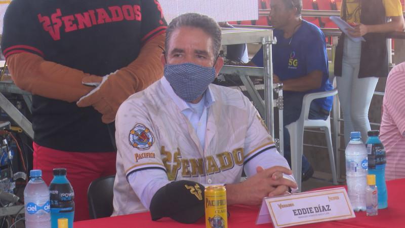 Eddie Díaz es presentado como manager de Venados de Mazatlan
