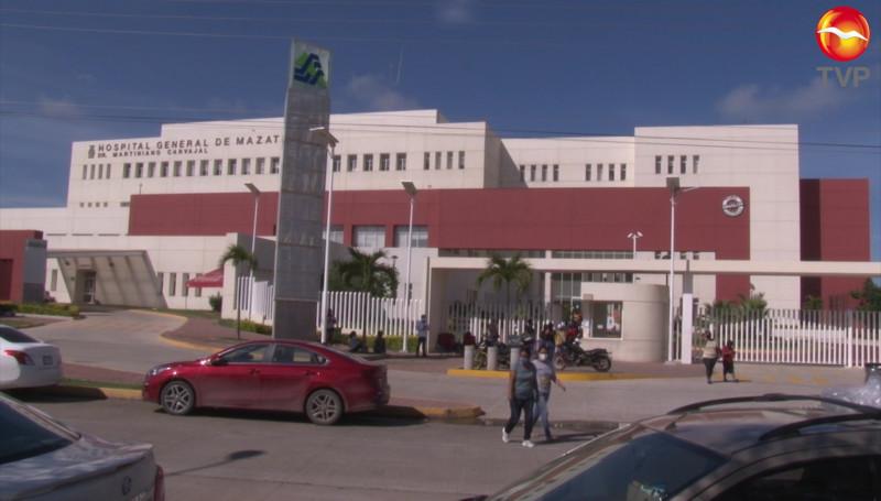 Incrementan los pacientes covid en el Hospital General de Mazatlán