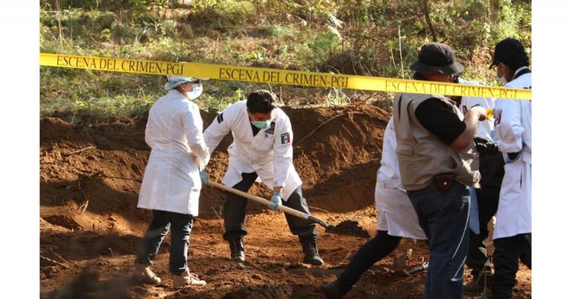 Hallan 174 fosas clandestinas en el primer semestre de 2021 en México