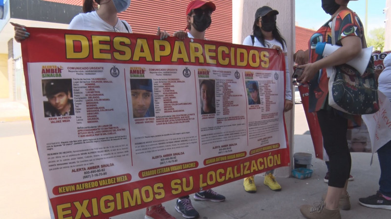 Buscan a cuatro jóvenes que desaparecieron