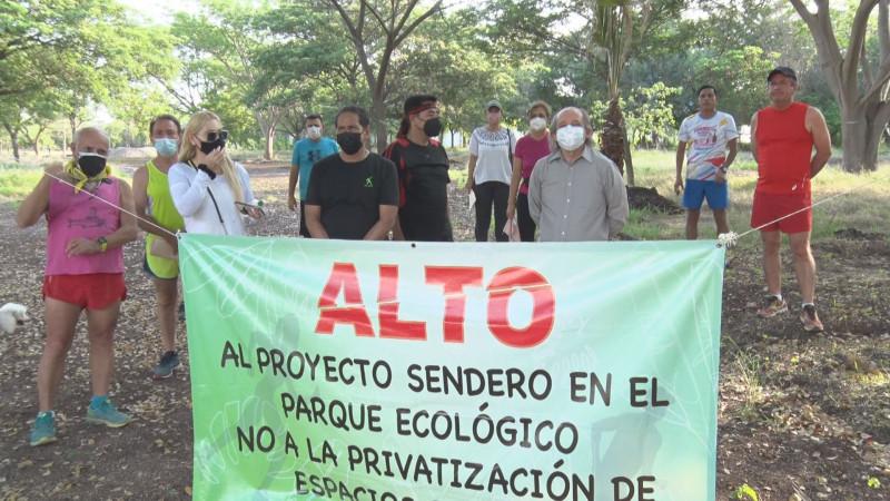 """Se oponen al proyecto """"Sendero"""""""