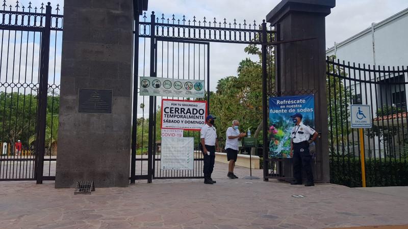 Invitan a seguir respetando medidas sanitarias en el parque Sinaloa