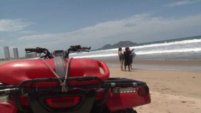 12 rescates acuáticos en fin de semana