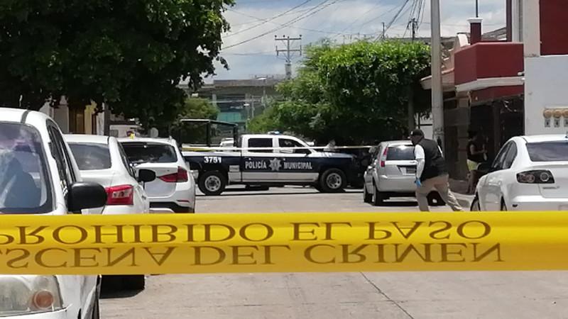 Asesinan a un  hombre vecino de la Colonia Cuauhtémoc
