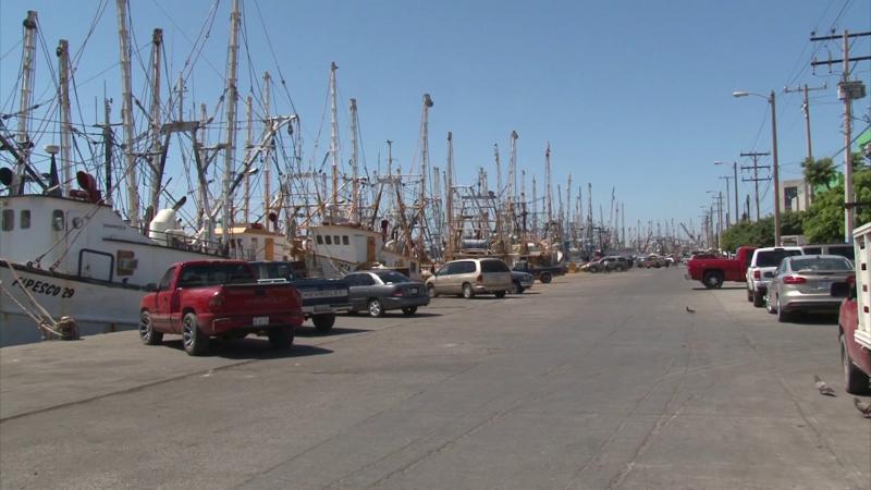 Es mínimo el mantenimiento a barcos camaroneros