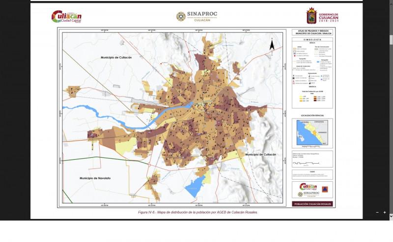 Los Atlas Riesgos permiten identificar zonas con una alta vulnerabilidad