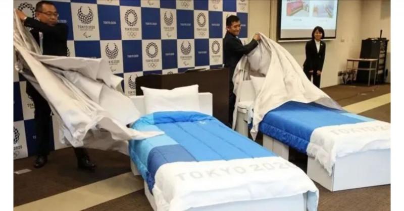"""Los atletas olímpicos dormirán en camas """"anti sexo"""" durante Tokio 2021"""