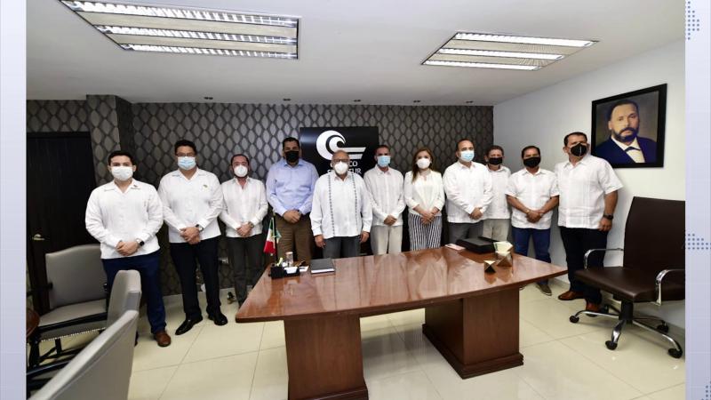 Miguel Hernández asume la dirigencia de FECANACO Sinaloa